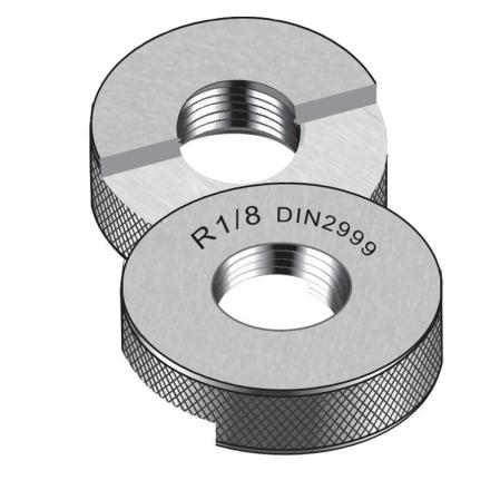 Rp - Taper Pipe Thread Ring Gauge